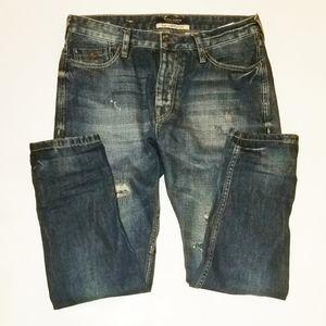 MAISON SCOTCH Naoyo distressed jeans